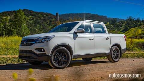 Test drive SsangYong Musso: pick-up para todos los gustos