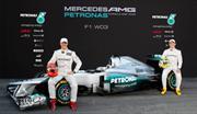 F1: Merdeces reveló la Flecha de Plata 2012