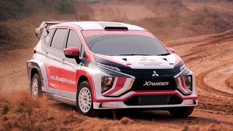 Mitsubishi Xpander AP4, la primera minivan de rally con corazón de Evolution