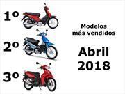 Top 10: Los modelos de motos más vendidos en el mes de abril de 2018