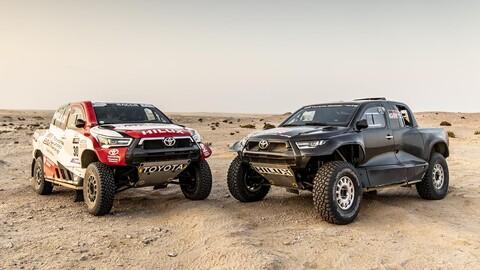 Toyota hace oficial su escuadra para el Dakar 2022