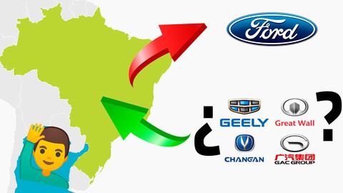 ¿Los chinos quieren las plantas de Ford Brasil?