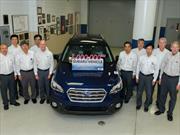 Subaru alcanza 3 millones de vehículos producidos en Estados Unidos