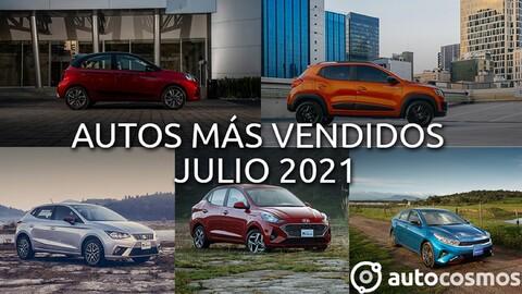 Los 10 autos más vendidos en julio 2021