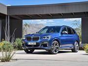 BMW X3 2018, completamente recargada