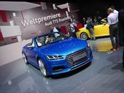 Audi TT y TTS Roadster 2016 se presentan