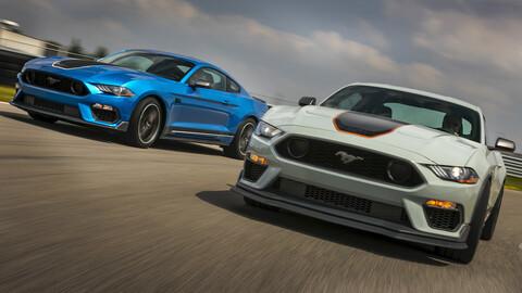 Ford Mustang GT y Mach 1 pierden 10 caballos a propósito