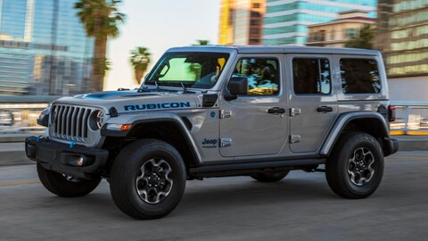 Jeep Wrangler 4xe es el Green SUV of the Year 2021