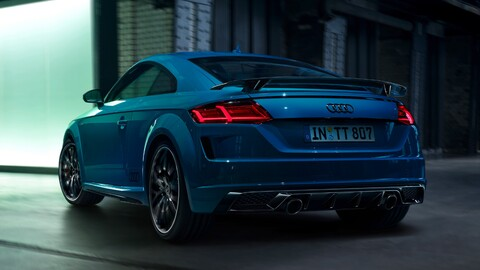 Audi TT 45 TFSI S Line Competition Plus: Suma estilo y deportividad