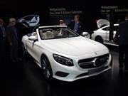 Mercedes-Benz Clase S Cabriolet 2017 regresa a escena
