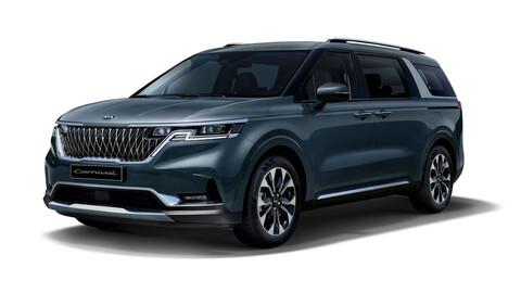 KIA Sedona 2021 primeras imágenes: ya no le digas minivan, ahora es un Grand Utility Vehicle