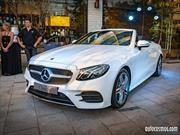 Mercedes-Benz Clase E Cabrio 2018 completa la gama