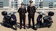 Policías electrificados: En Italia suman a la Vespa Elettrica a la flota