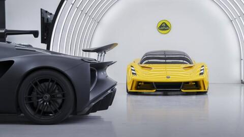 Lotus muestra la base de sus futuros deportivos eléctricos