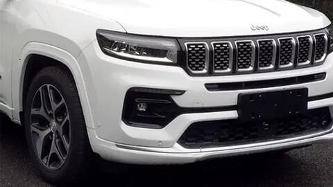 Jeep Grand Commander, así podría lucir el rediseñado SUV de siete asientos.