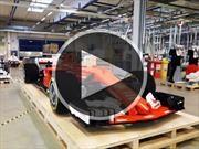 Video: LEGO construye un monoplaza de Ferrari en tamaño real
