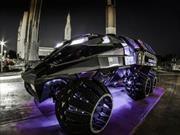 Este espectacular vehículo podría viajar a Marte