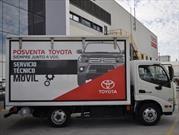 Toyota agranda su servicio técnico móvil