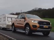 Video: Ford Ranger y un remolque extraordinario