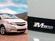 Chevrolet Sail llega al millón de unidades vendidas en el mundo