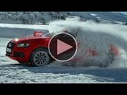 Video: Audi SQ5 jugando en la nieve a ritmo de Samba
