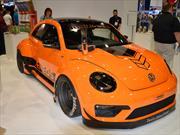 VW Beetle Tanner Foust Racing ENEOS RWB, condimentado con Porsche