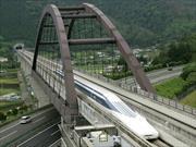Tren de levitación magnética japonés rompe récord de velocidad