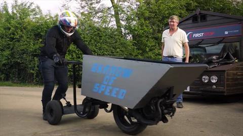 Conoce la carretilla más rápida del mundo
