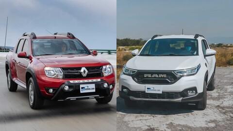 RAM 700 vs Renault Oroch ¿cuál es la mejor pickup compacta en México?