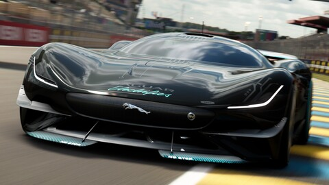Jaguar Vision Gran Turismo SV: un super auto eléctrico virtual con 1,900 hp