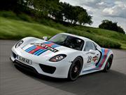 Porsche 918 Spyder Concept se viste de Martini Racing
