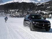 Maserati Levante impone récord de snowboarding