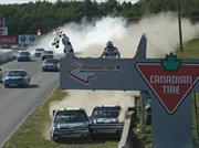 El final más espectacular de la NASCAR Truck Series