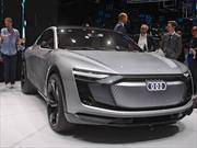 Audi e-Tron Sportback Concept, alza la bandera eléctrica por los alemanes en Shanghai
