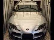 Pillaron sin camuflaje al futuro Toyota Supra