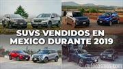 Los SUVs más vendidos en México durante 2019
