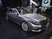 Mercedes-Maybach S600 2015, el lujo en su máxima expresión