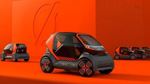 Mobilize EZ-1, el nuevo sistema de car-sharing de Renault y devela un biplaza eléctrico