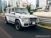 Test de Mercedes-Benz G63 AMG 2014