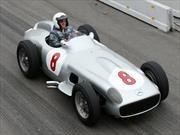 Nico Rosberg ya tiene su lugar en el Museo de Mercedes-Benz