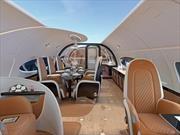 Pagani y Airbus diseñan un jet realmente sensacional