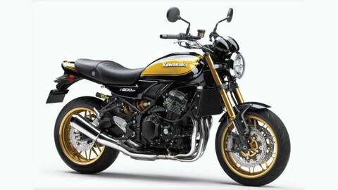 Kawasaki pinta de oro y negro su retro sport Z900RS