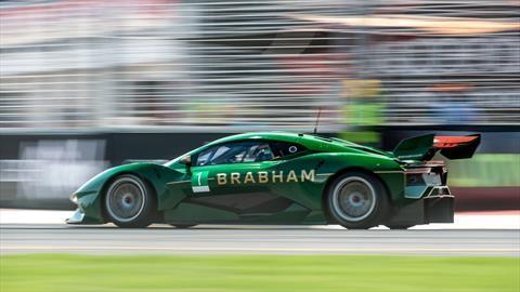 Brabham cumple dos años de vida y ahora va por Le Mans