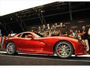 SRT Viper GTS 2013  subastado en 300.000 dólares