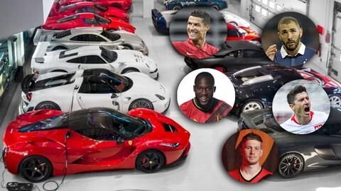 ¿Qué autos eligen las estrellas del fútbol europeo?