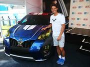 Rafa Nadal muestra en el Australian Open la última KIA X-Car