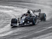 F1 2018: Aston Martin Red Bull RB14 debuta pero con camuflaje