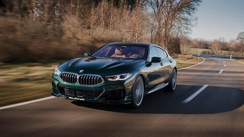 Alpina B8 Gran Coupé 2022, un BMW M8 con más de 600 caballos de potencia