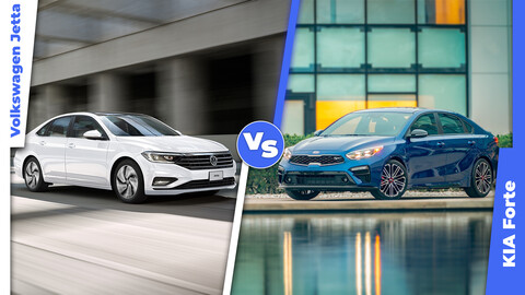Volkswagen Jetta vs KIA Forte, comparamos las versiones más equipadas, ¿cuál es mejor?
