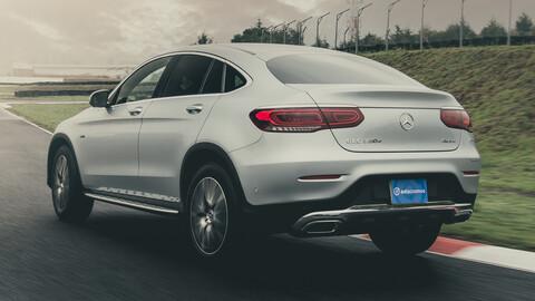 Manejamos el Mercedes-Benz GLC 300 e Coupé 2021